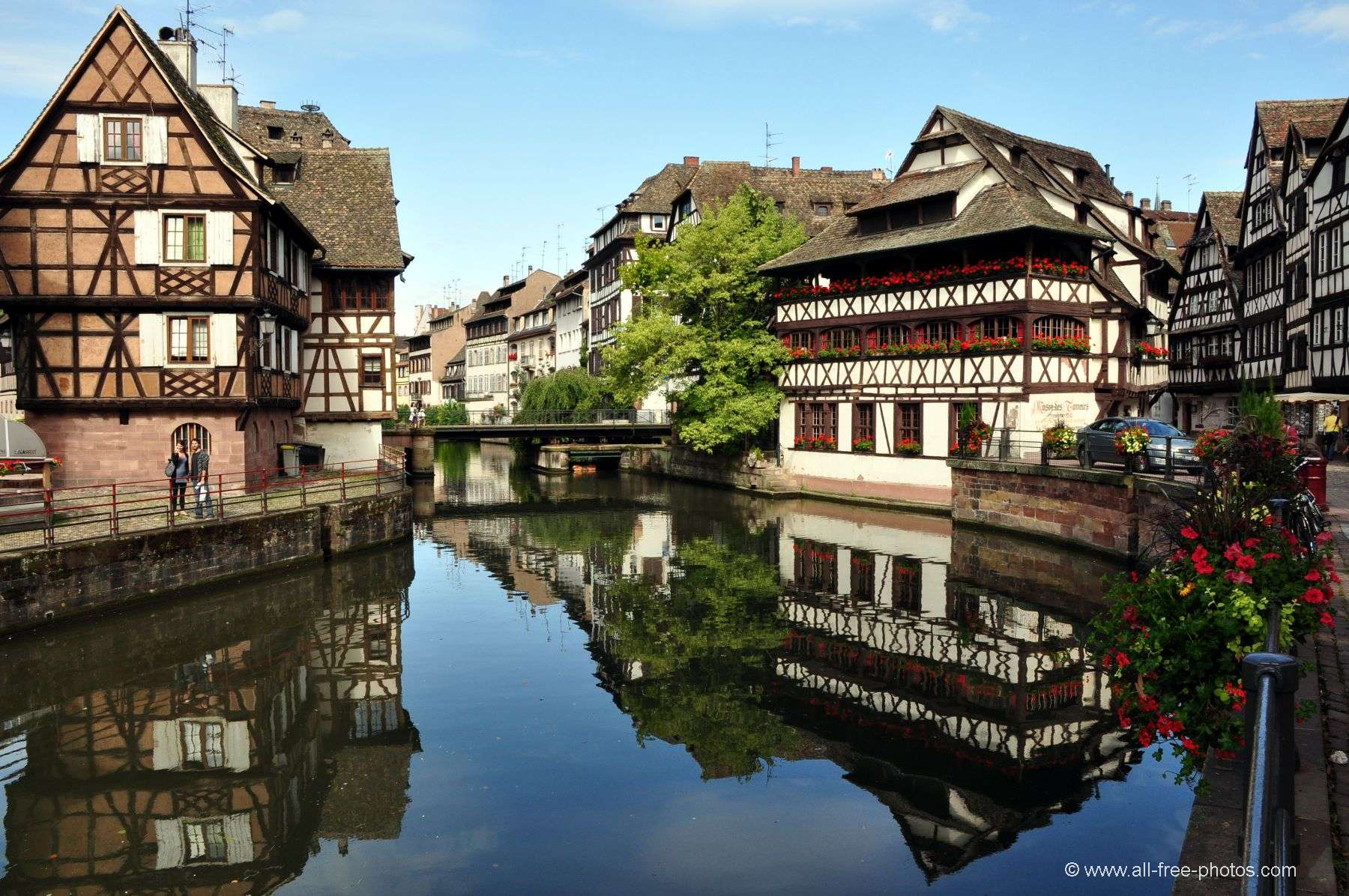 Home galleries towns and villages alsace strasbourg the tanner's house