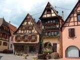 Alsace: Mutzig, Boersch, Rosheim, Dambach la Ville, Beblenheim, Riquewihr, Ribeauvill, Bergheim, Slestat, Colmar,Strasbourg.