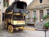 Old stagecoach - Riquewihr - Alsace - France