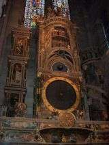 Astronomic clock in the cathedral - Strasbourg - France