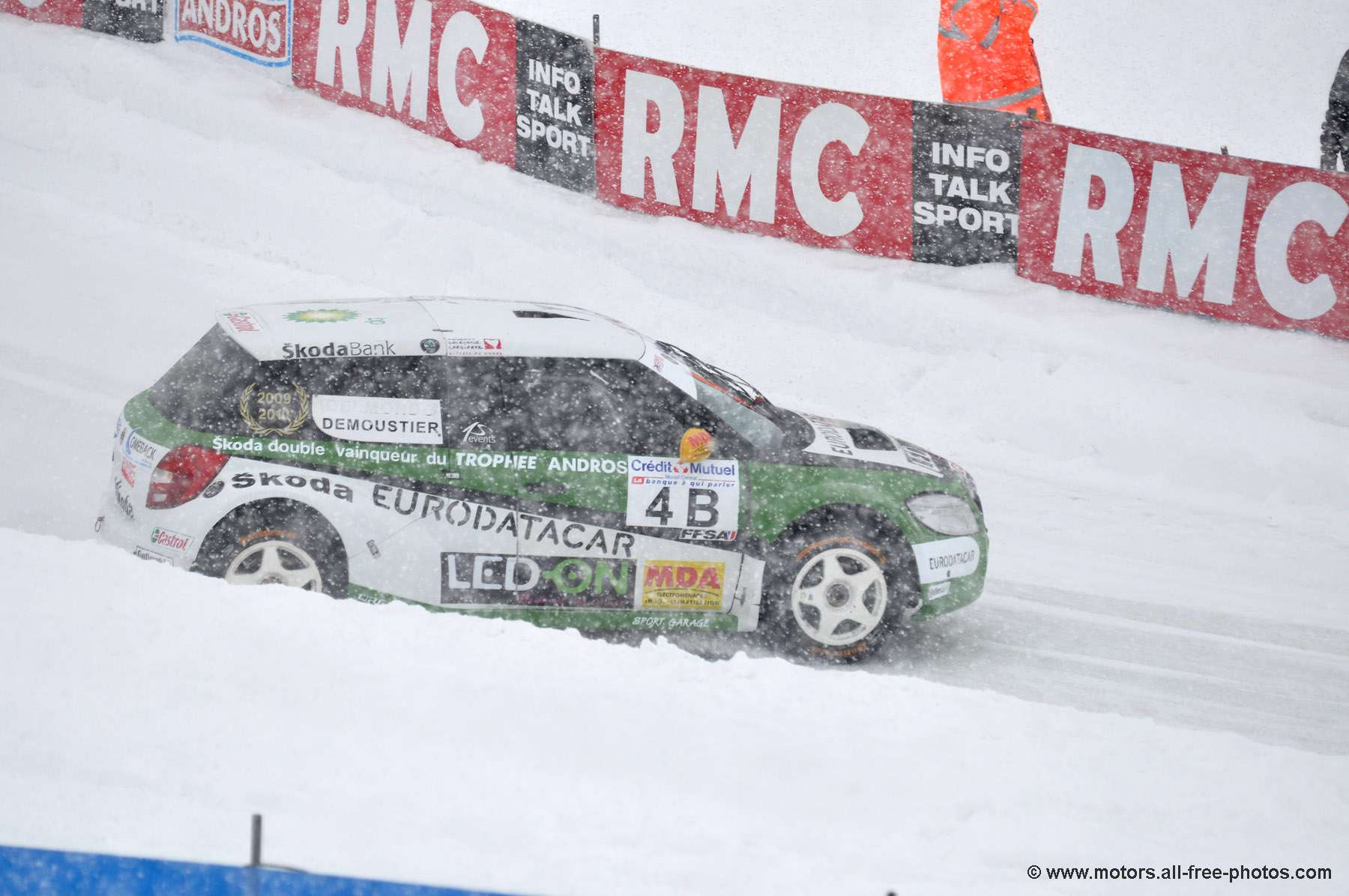 Grégoire Demoustier - Team Skoda / AS events - Skoda Fabia