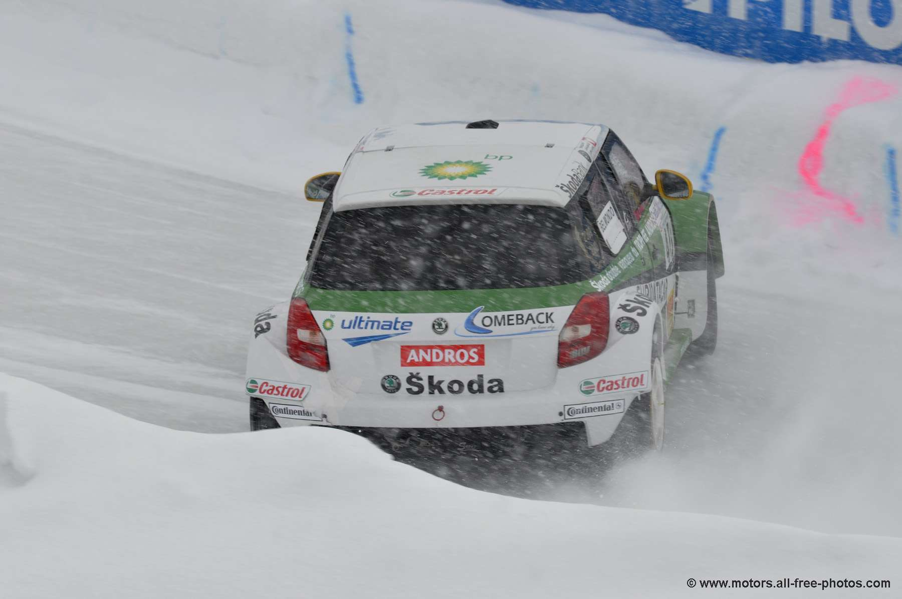Paul Belmondo - Team Skoda / AS events - Skoda Fabia