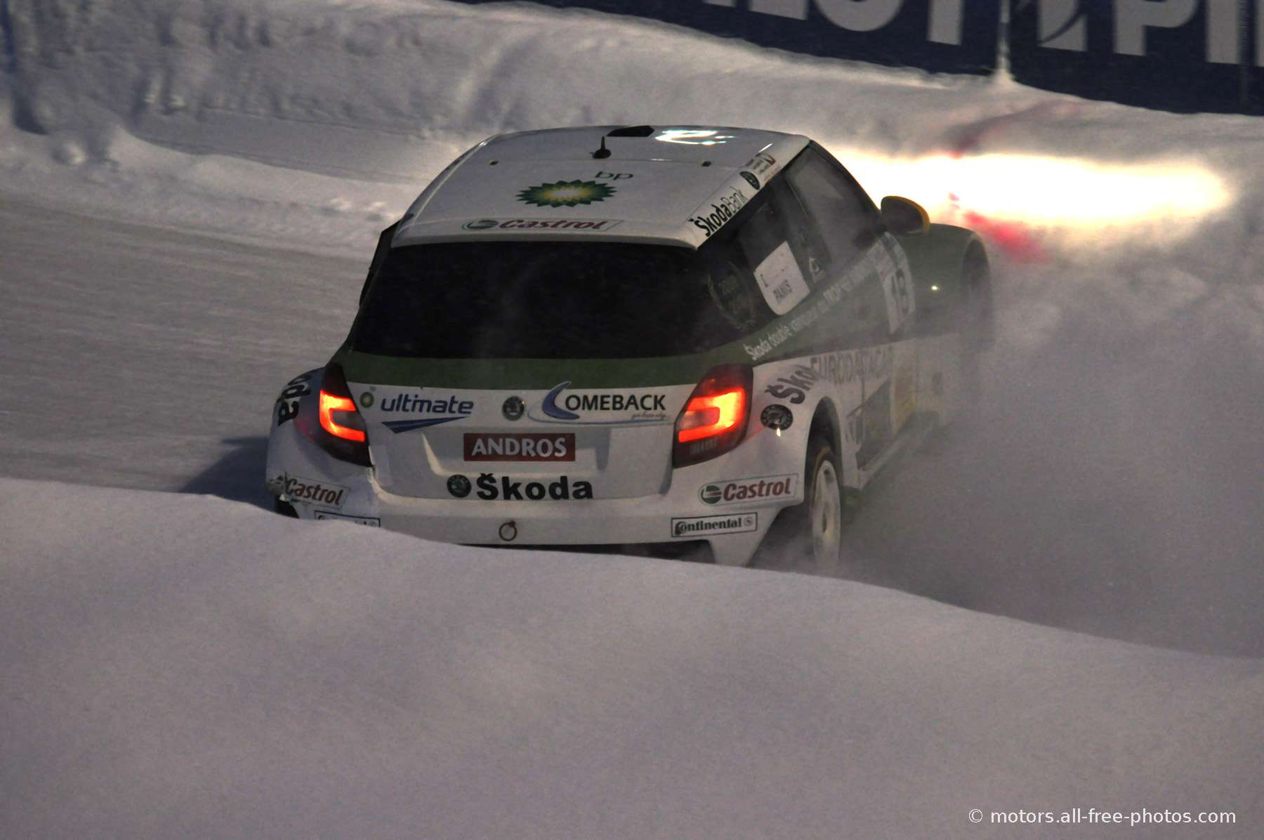 Olivier Panis - Team Skoda / AS events - Skoda Fabia