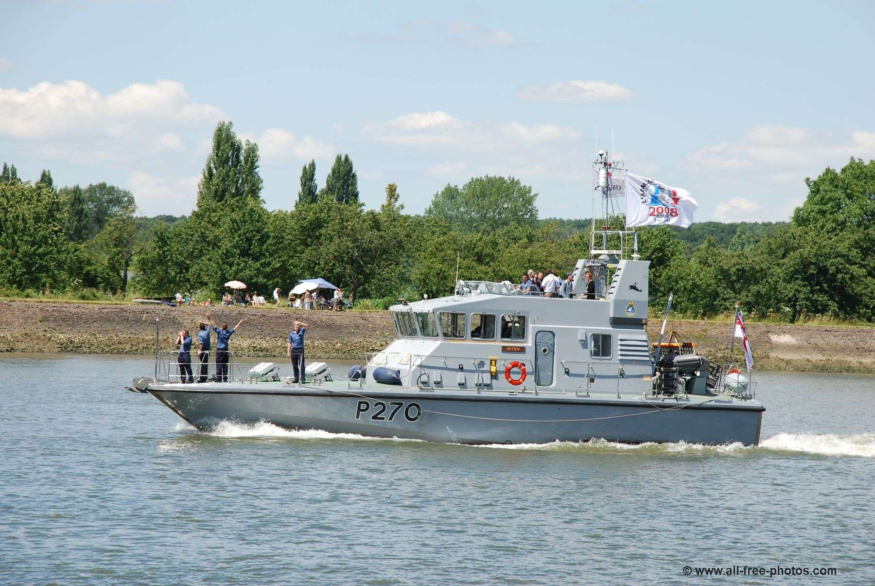 Patrol vessel HMS Biter - Great Britain