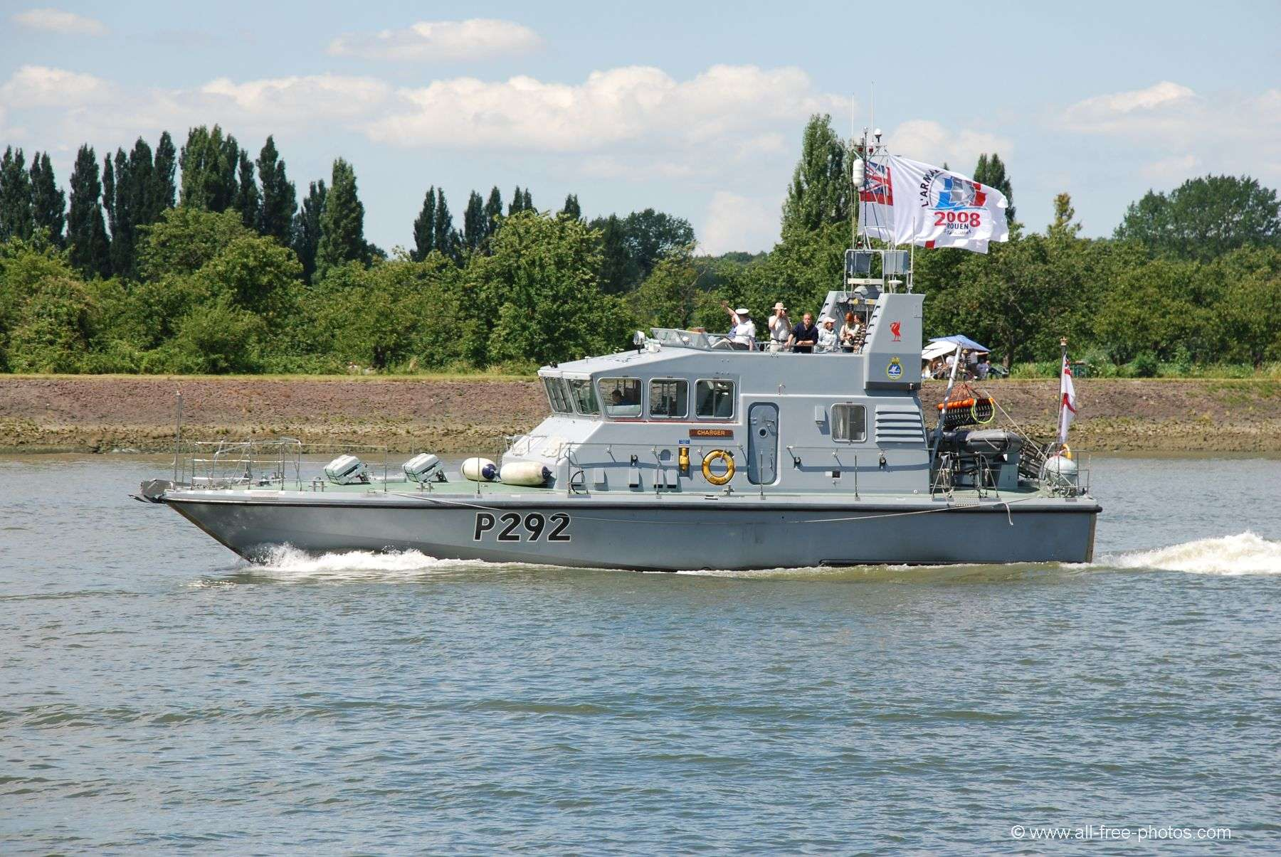 Patrol vessel HMS Charger - Great Britain