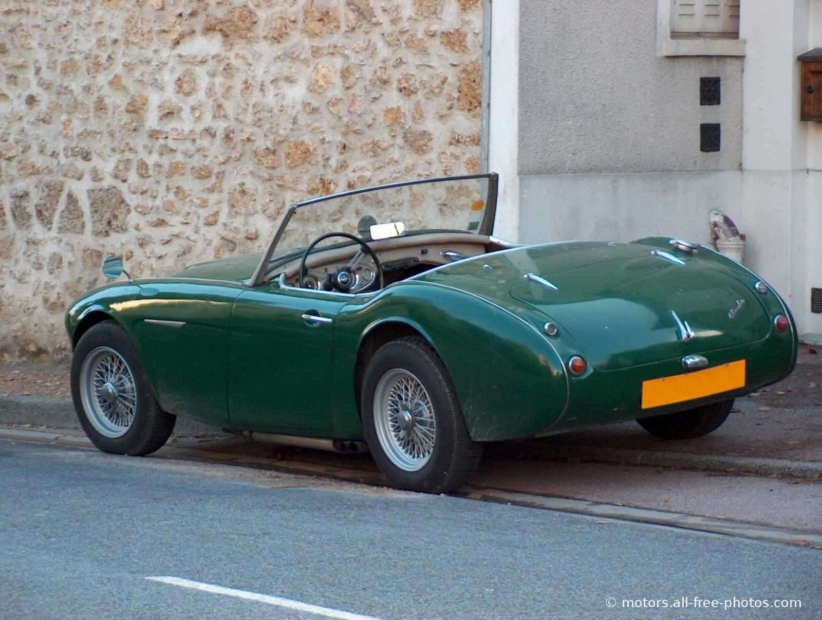 unique car: ANTIQUE CARS AUSTIN HEALY