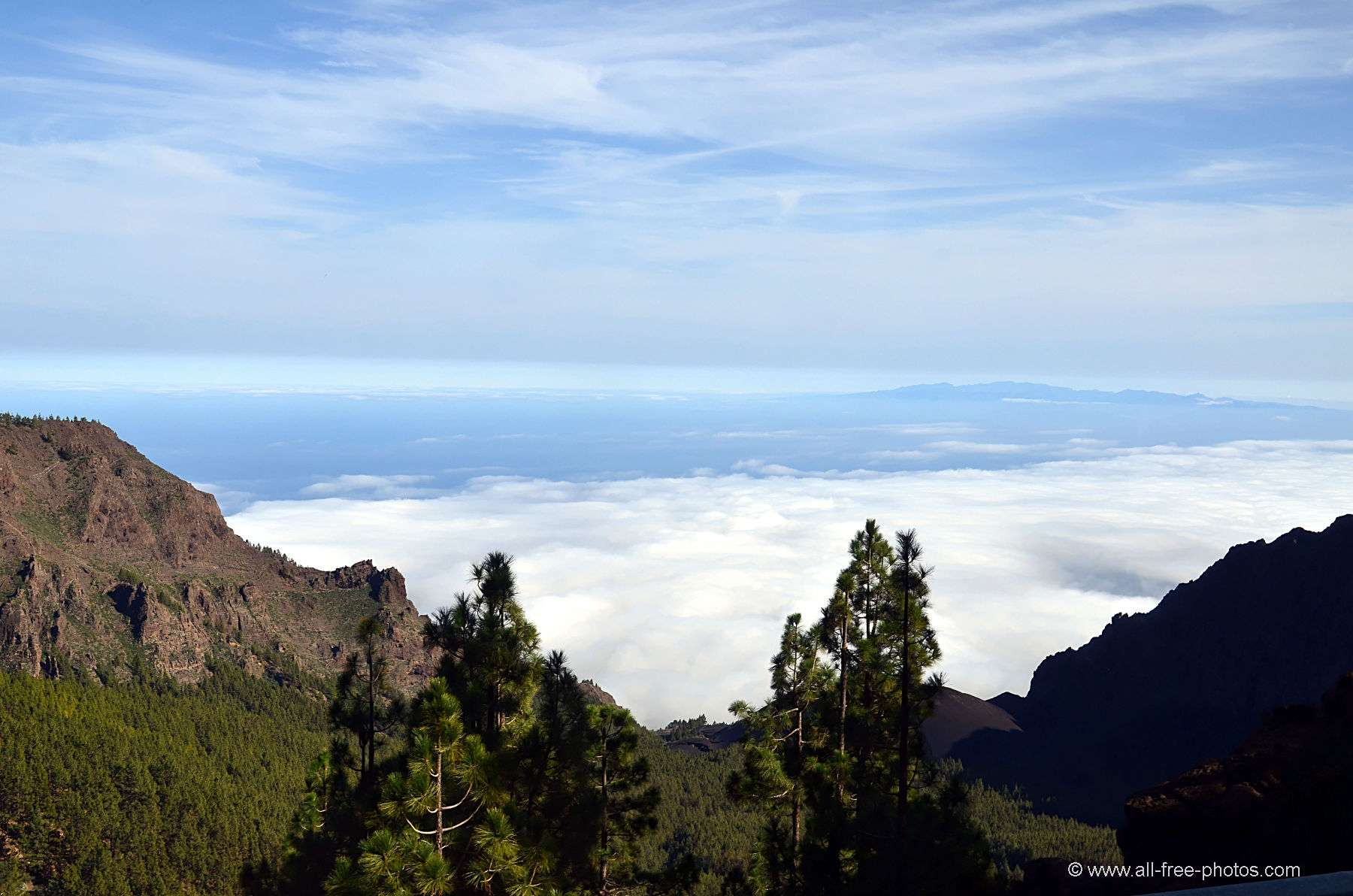 Tenerife mountains