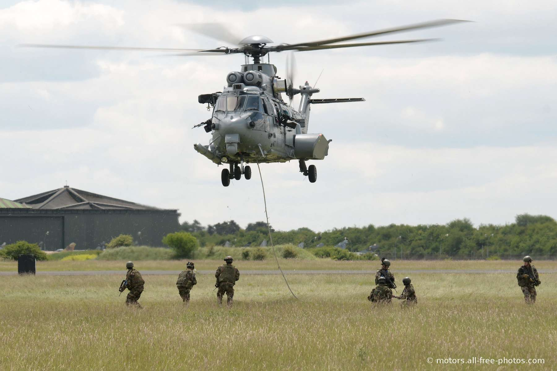 Eurocopter EC725 Caracal and Special Forces