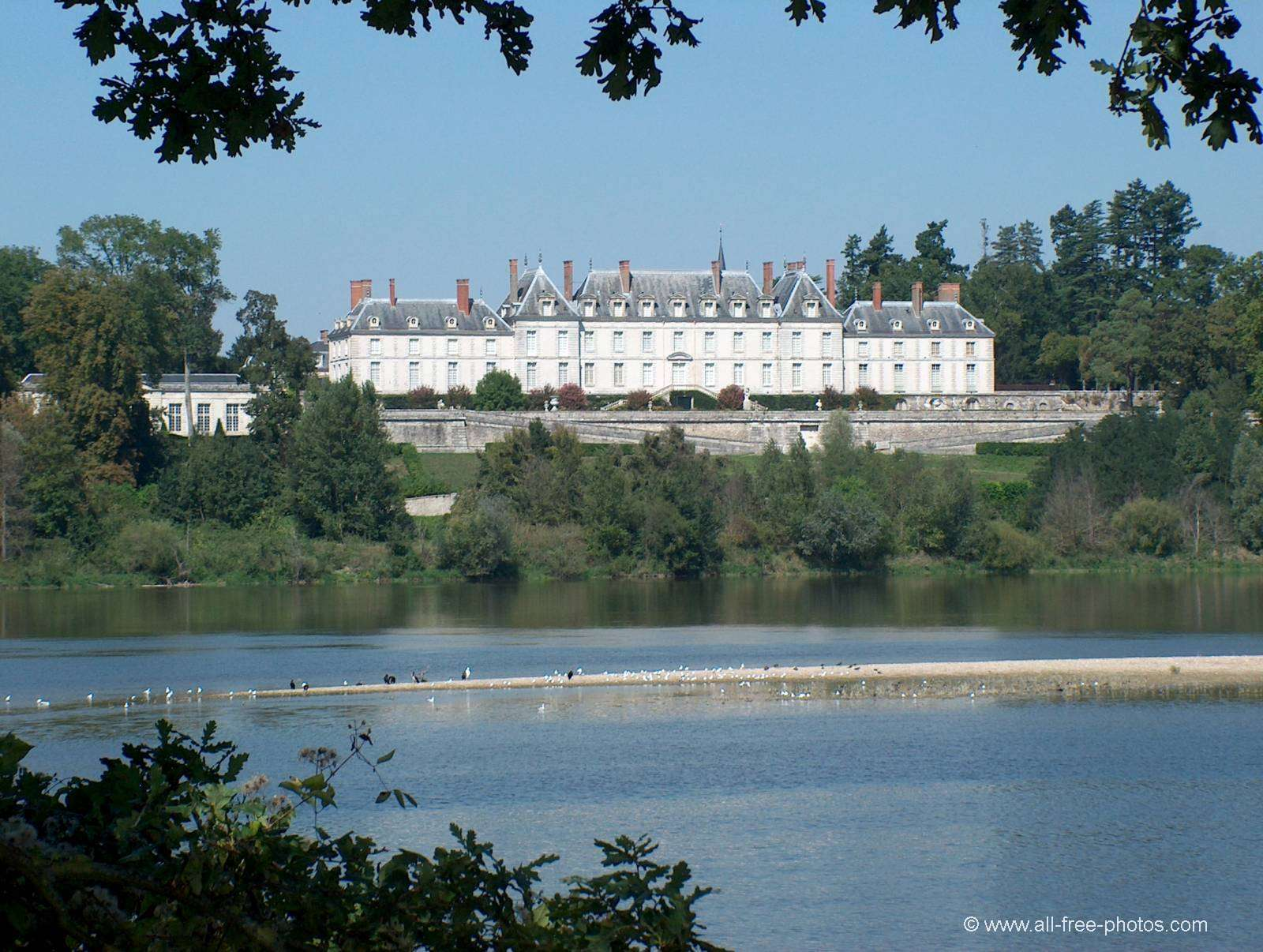 The Loire and the Ménars Castle - France