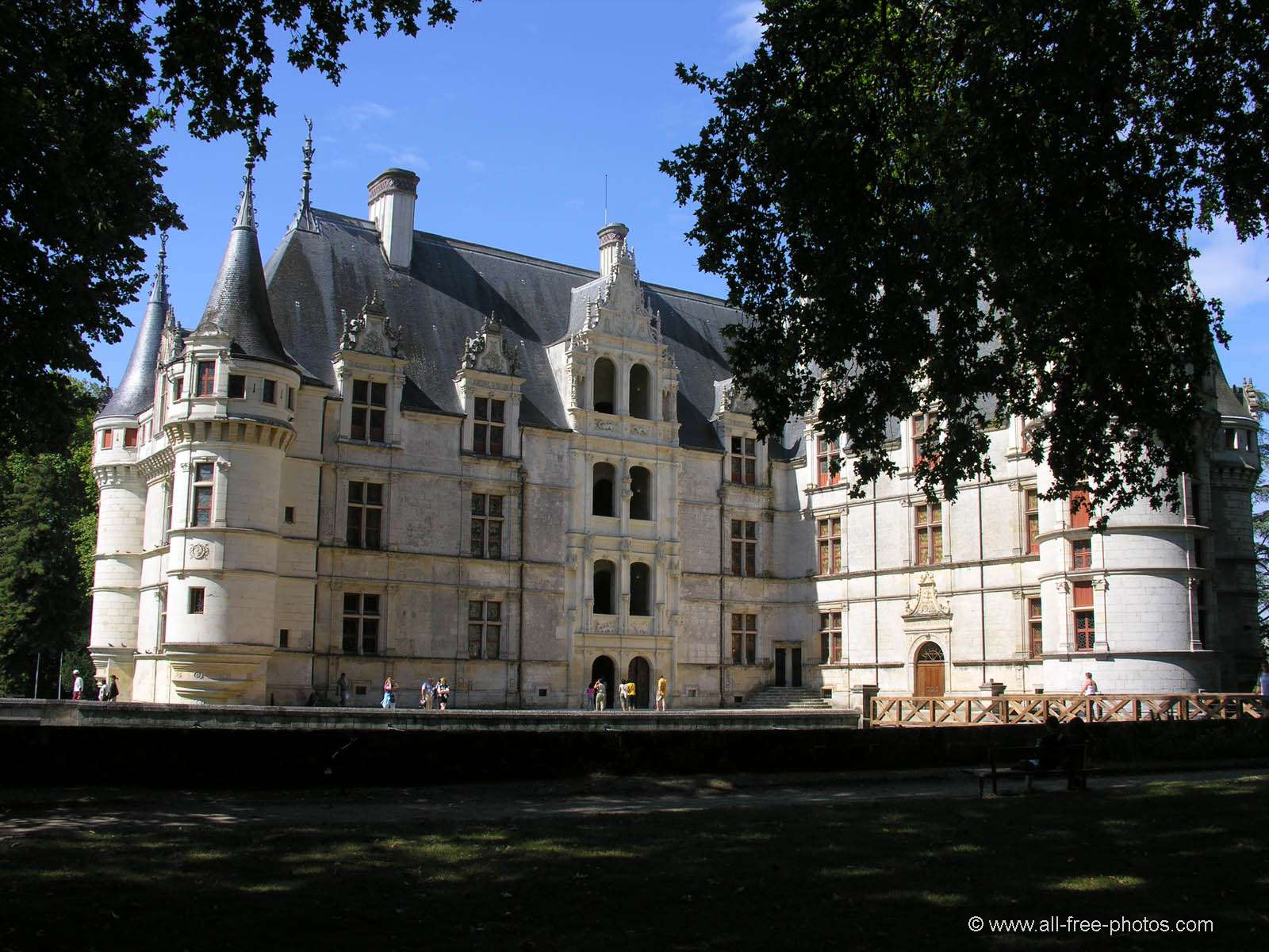 Castle of Azay le Rideau - France