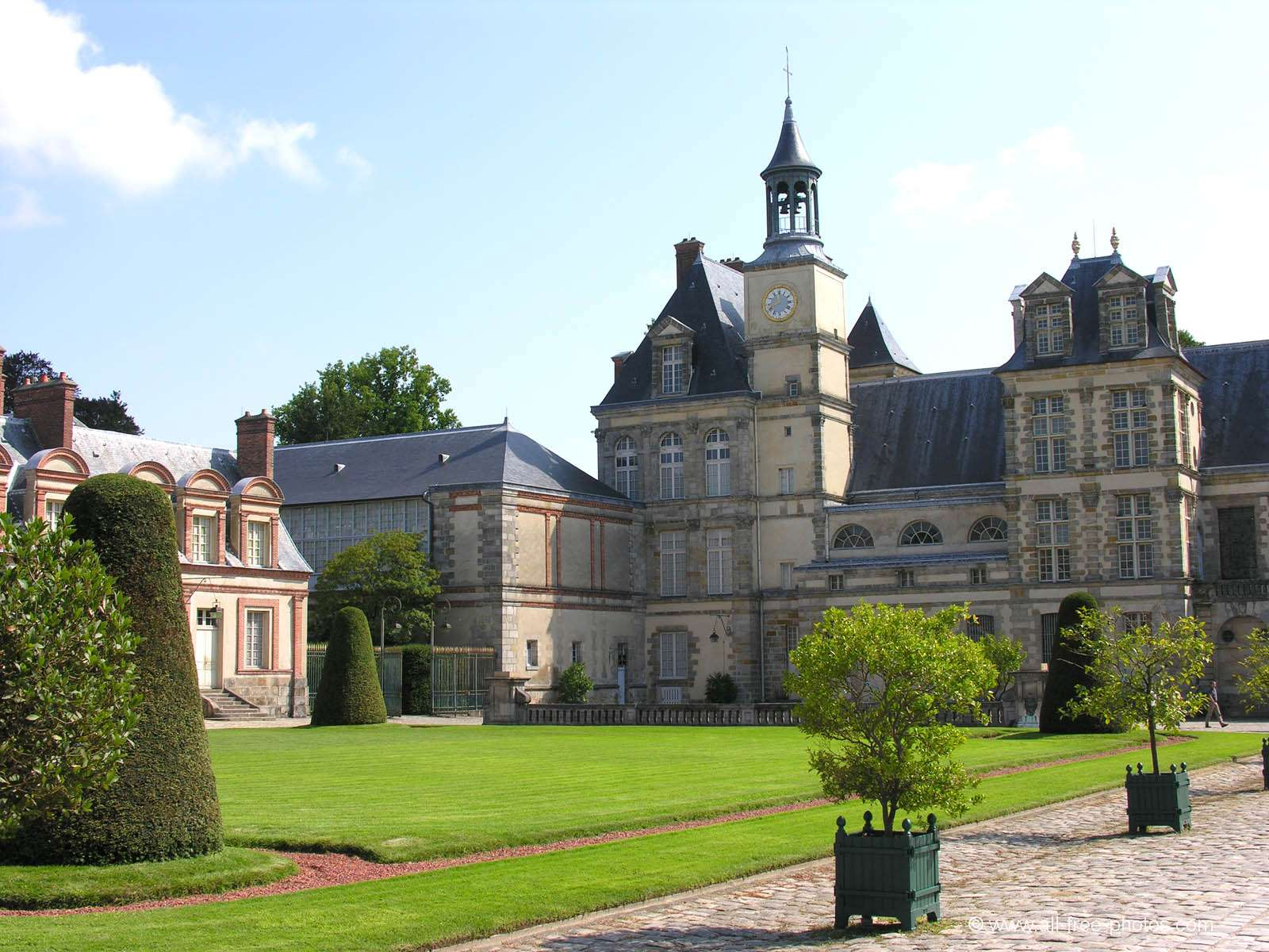 Castle of Fontainebleau - France