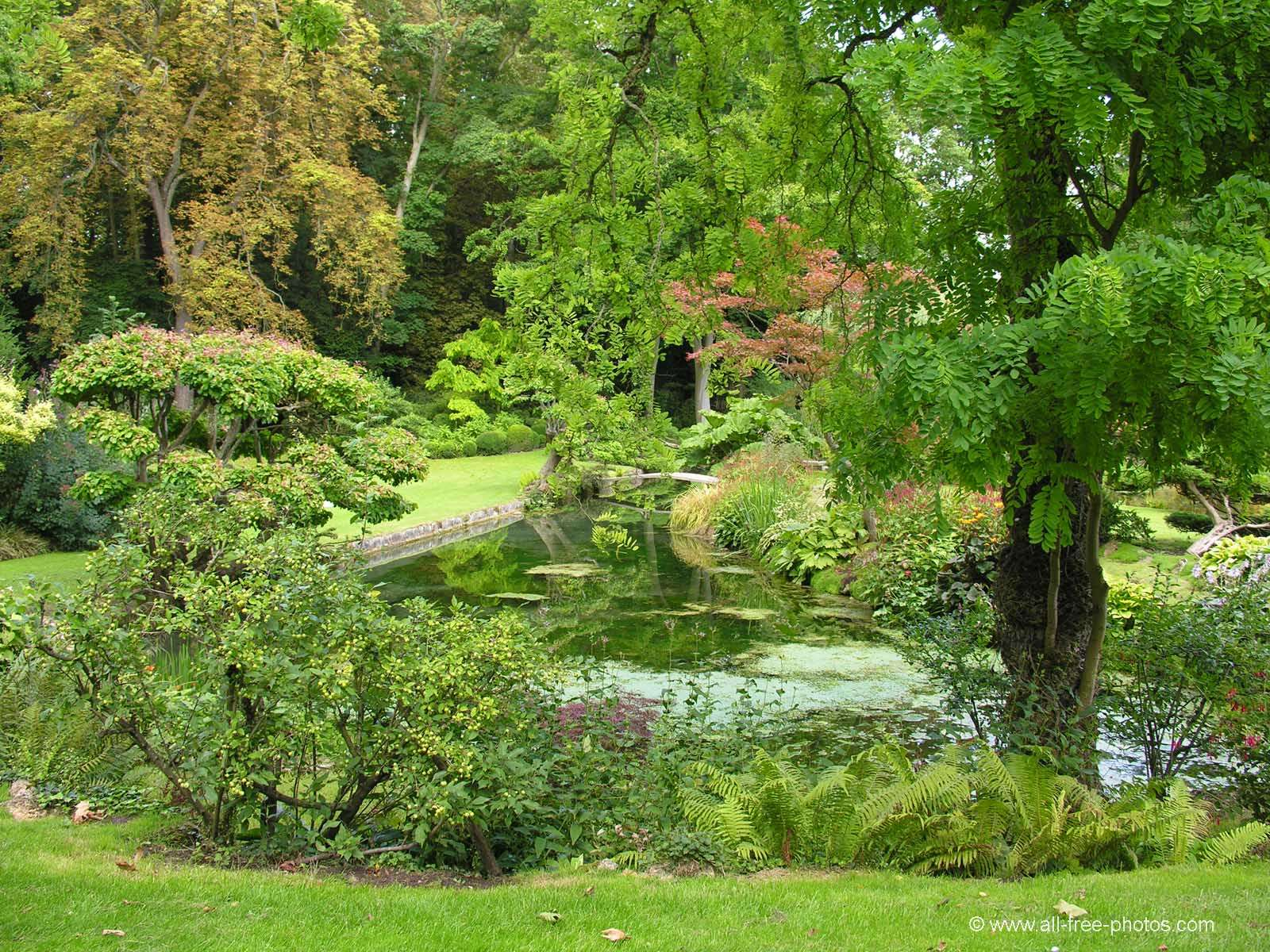 Photo japaneese garden castle of courances france for France jardin