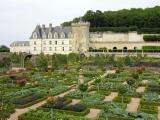 Castle and gardens of Villandry - France