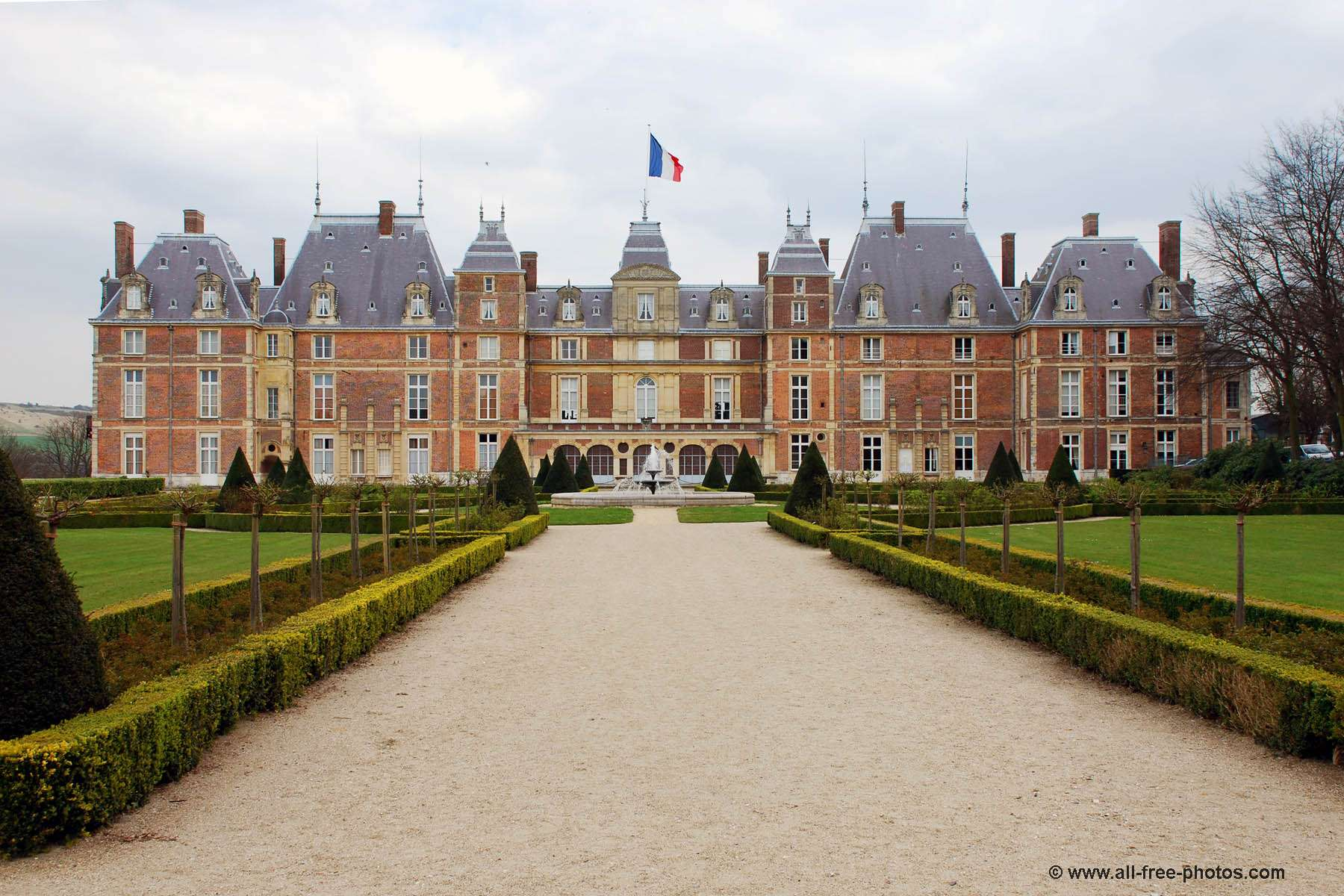 Castle of Eu - France