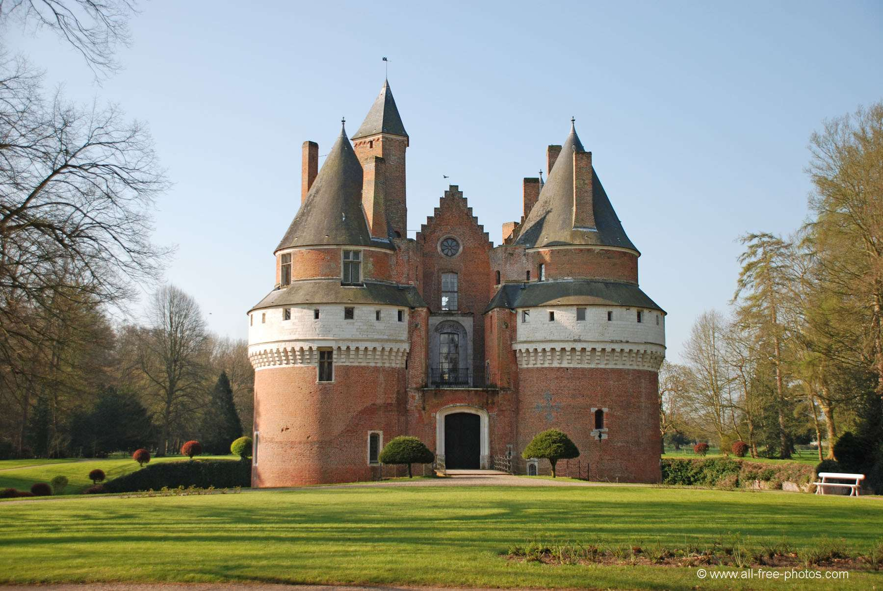 Castle of Rambures - France