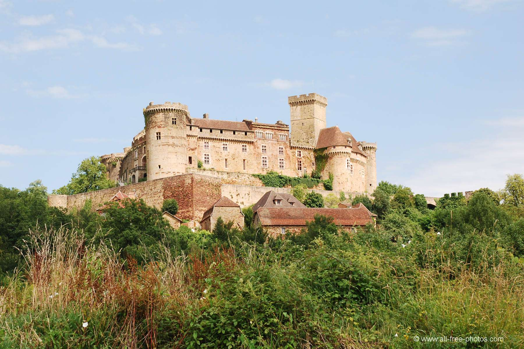 Castle of Castelnau - France