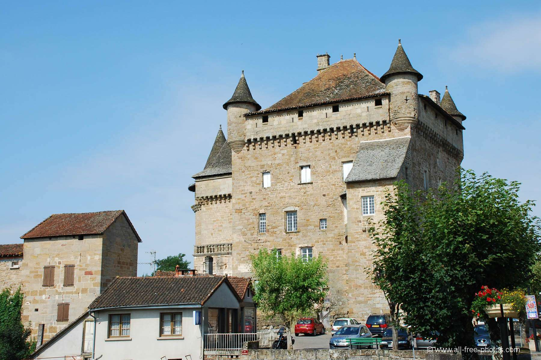 Castle of Lacapelle-Marival - France