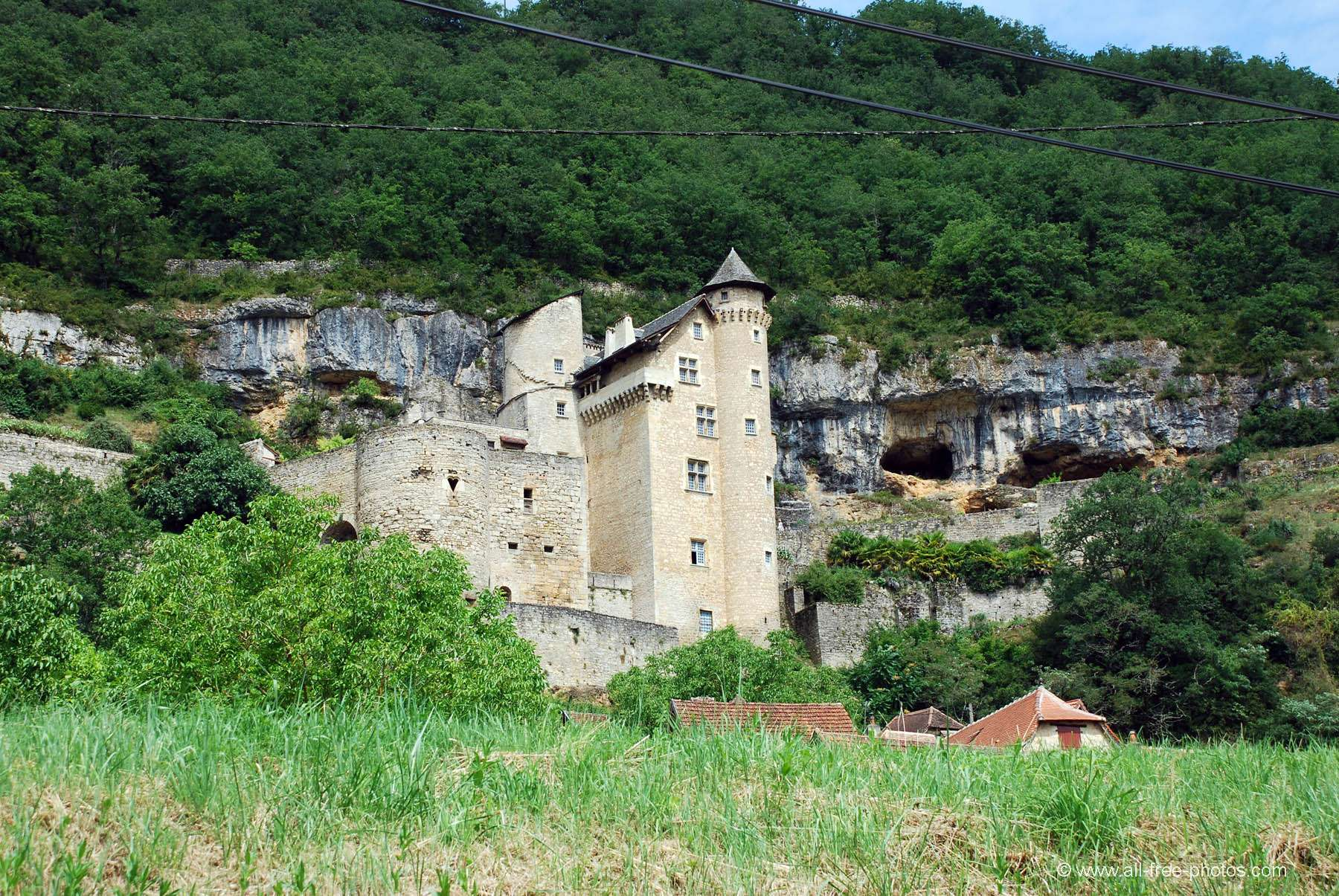 Castle of Laroque-Toirac - France