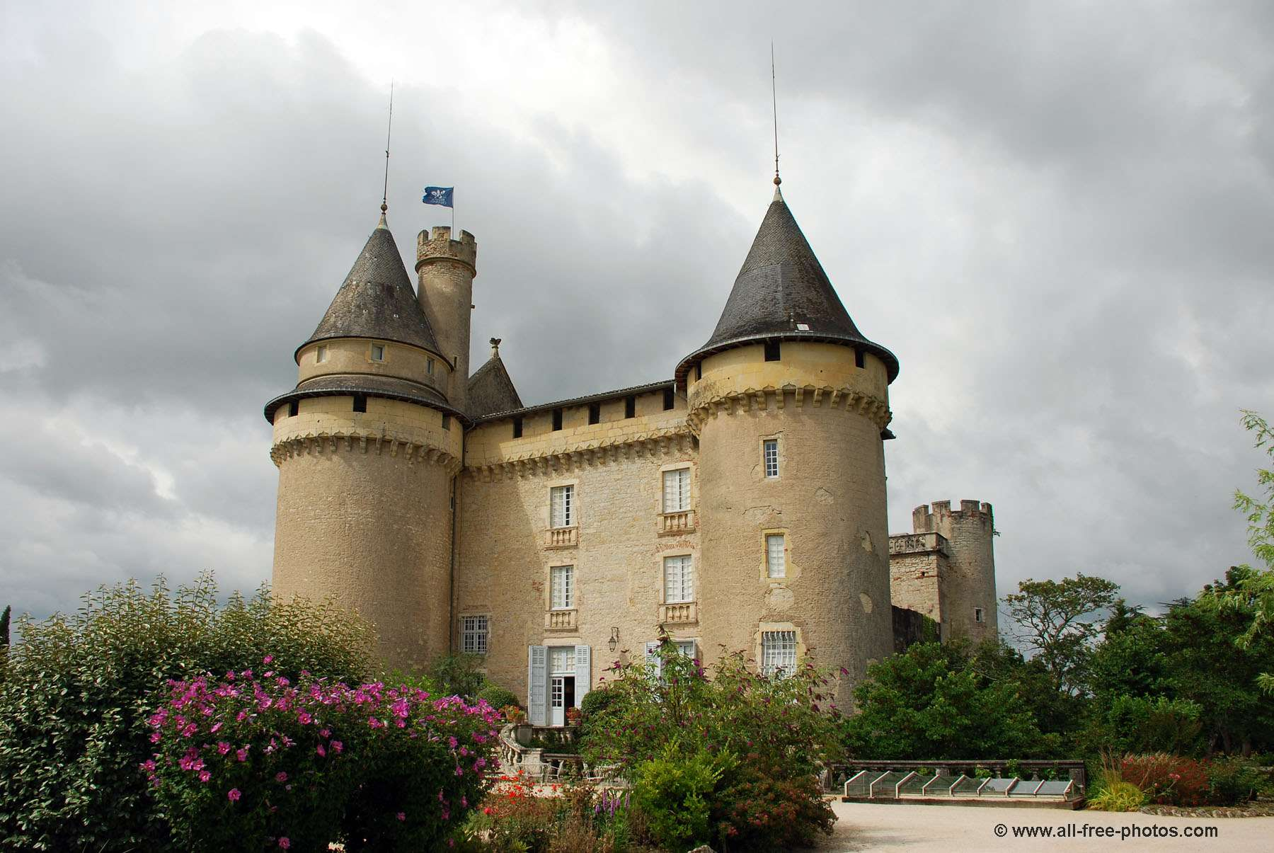 Castle of Mercues - France