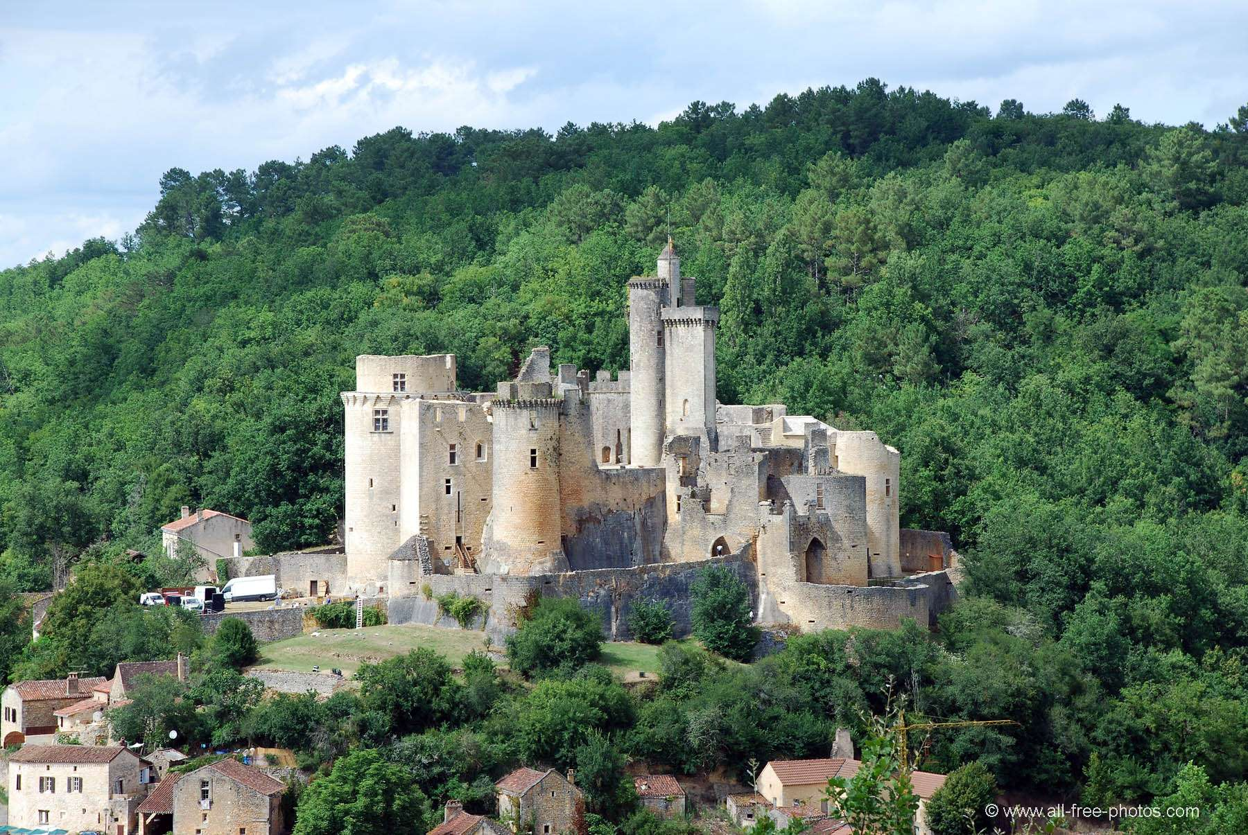 Castle of Bonaguil - France