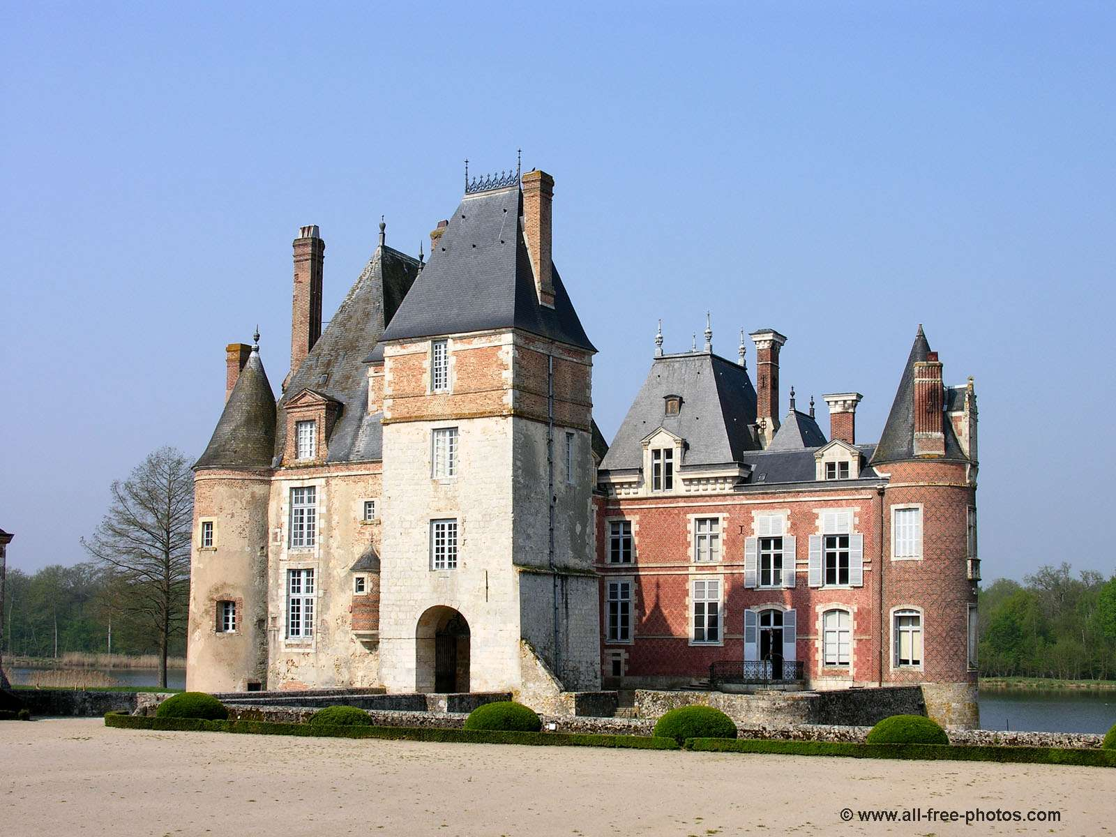 Castle of La Bussière - France