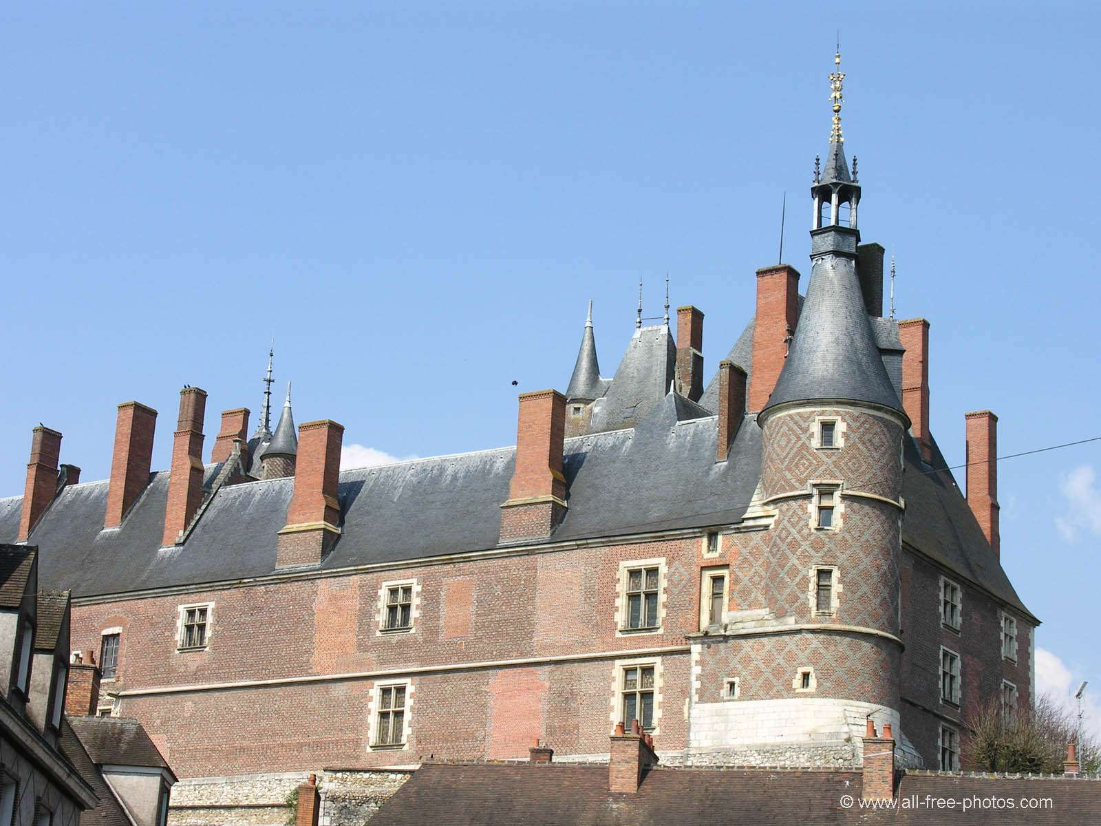 Castle of Gien - France