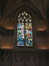 Stained glass - Castle of Amboise - France