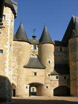 Castle of Fougères sur Bièvre - France