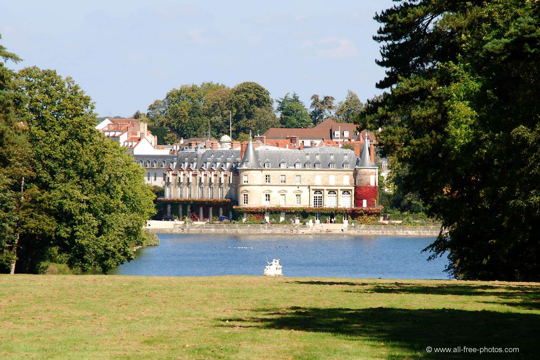 Rambouillet France  city photo : Photo: Castle of Rambouillet France