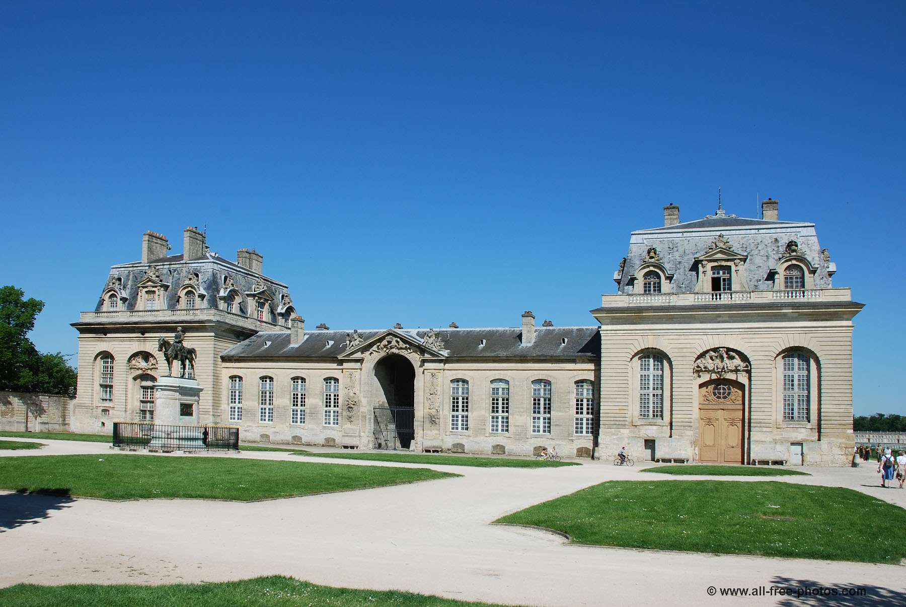 The big stables - Castle of Chantilly - France