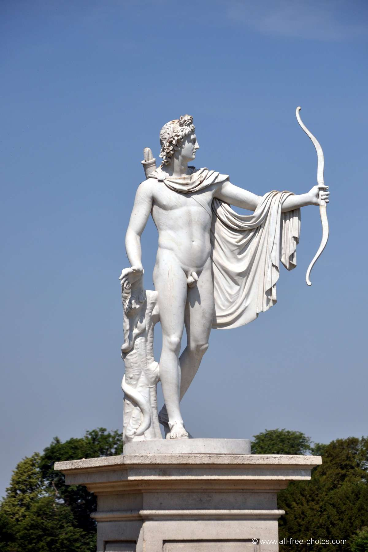 Statue of Apollo - Castle of Champs sur Marne