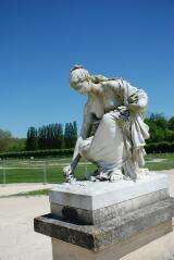 Statue of Proserpine by Chapu - Castle of Chantilly - France