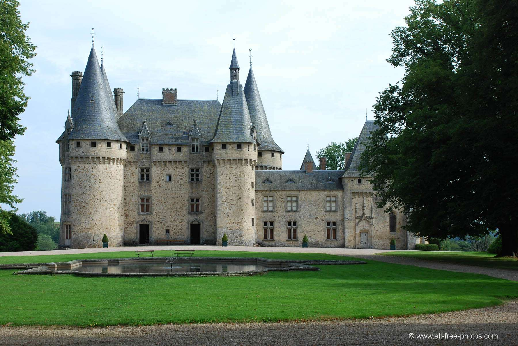 Castle of La Grénerie - Salon la Tour - France