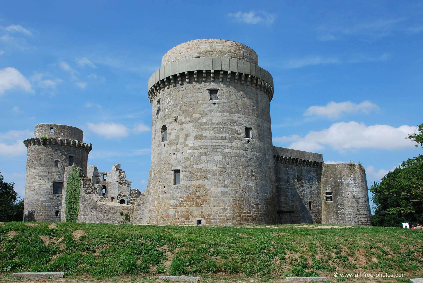 Castle of La Hunaudaye - France