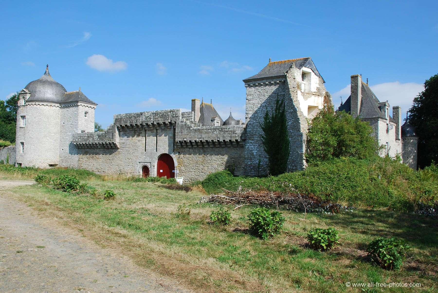 Castle of La Touche Trébry - France