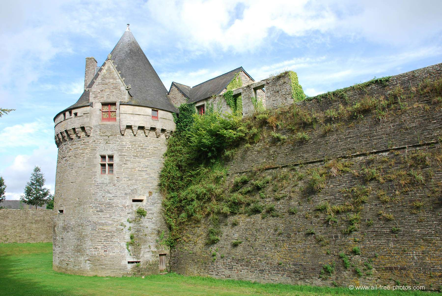 Castle of Rohan - Pontivy - France