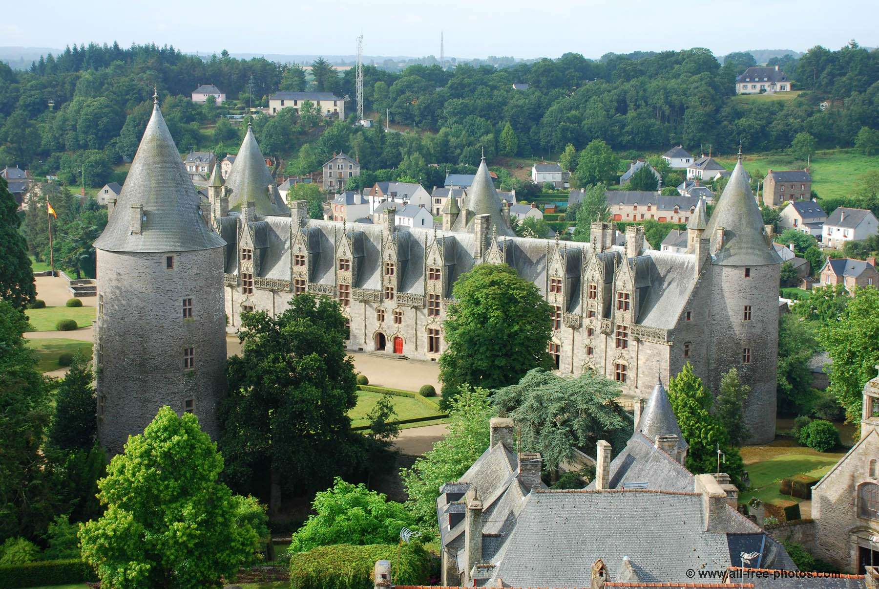 Castle of Josselin - France