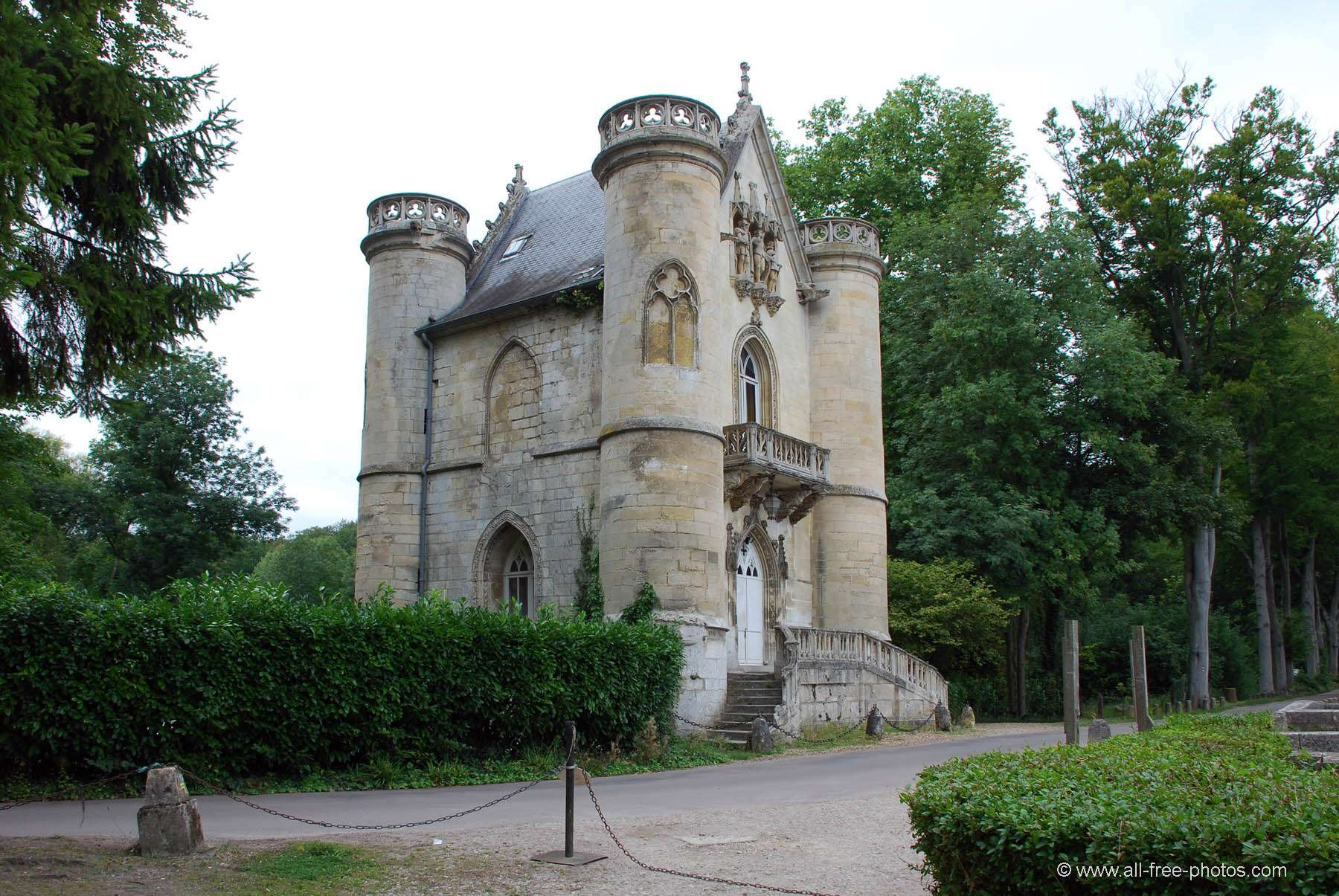 Castle of the White Queen - France