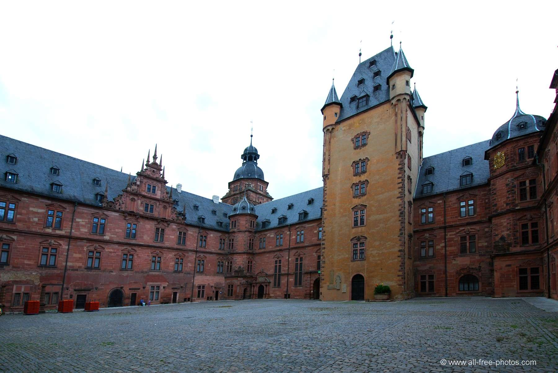 Photo: Castle of Aschaffenburg - Germany