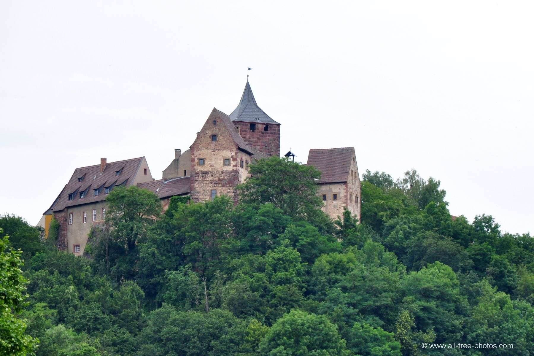 Castle of Rothenfels - Germany