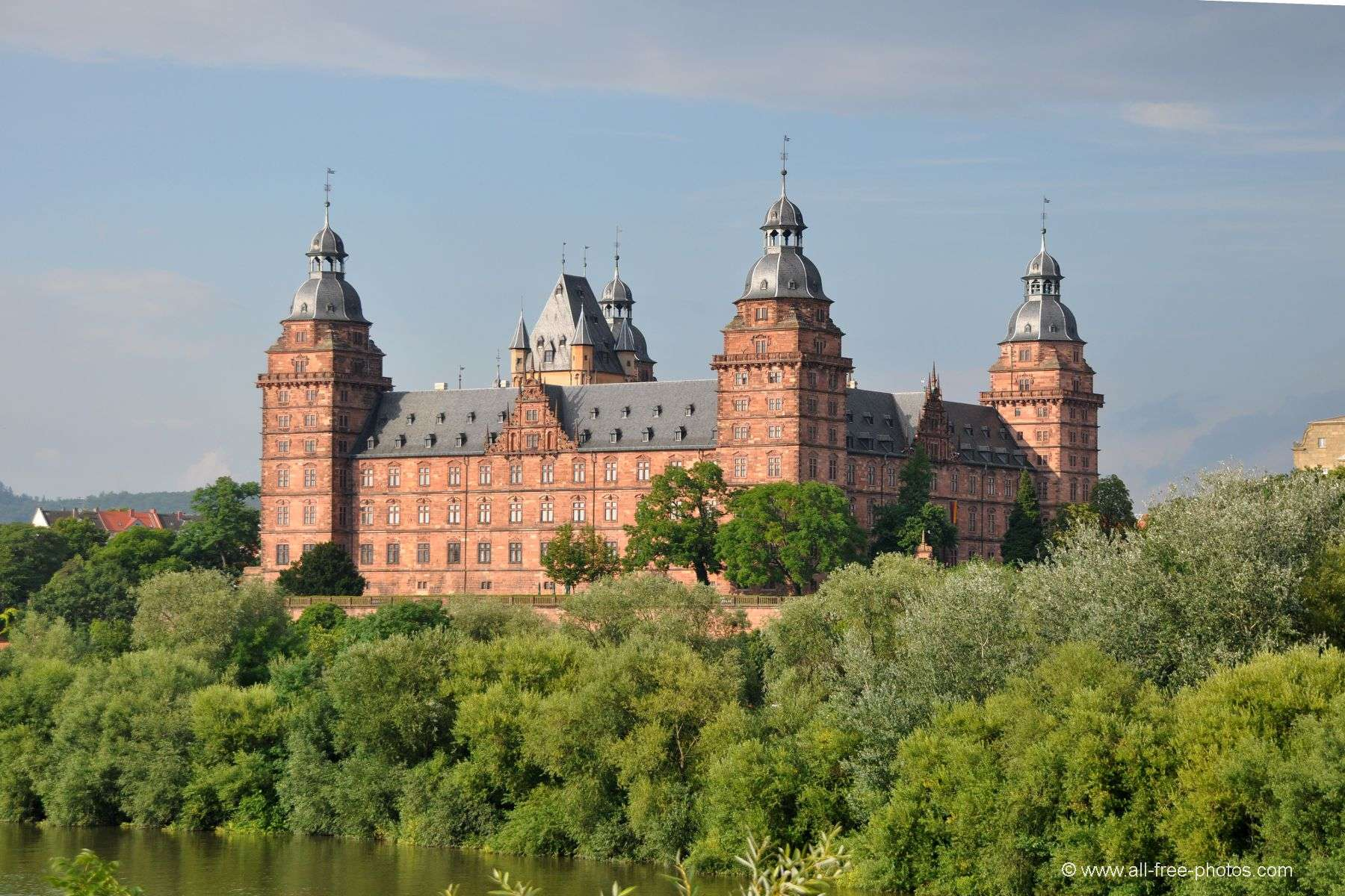 Castle of Aschaffenburg - Germany