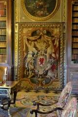 Library - Chateau of Vaux-le-Vicomte - France
