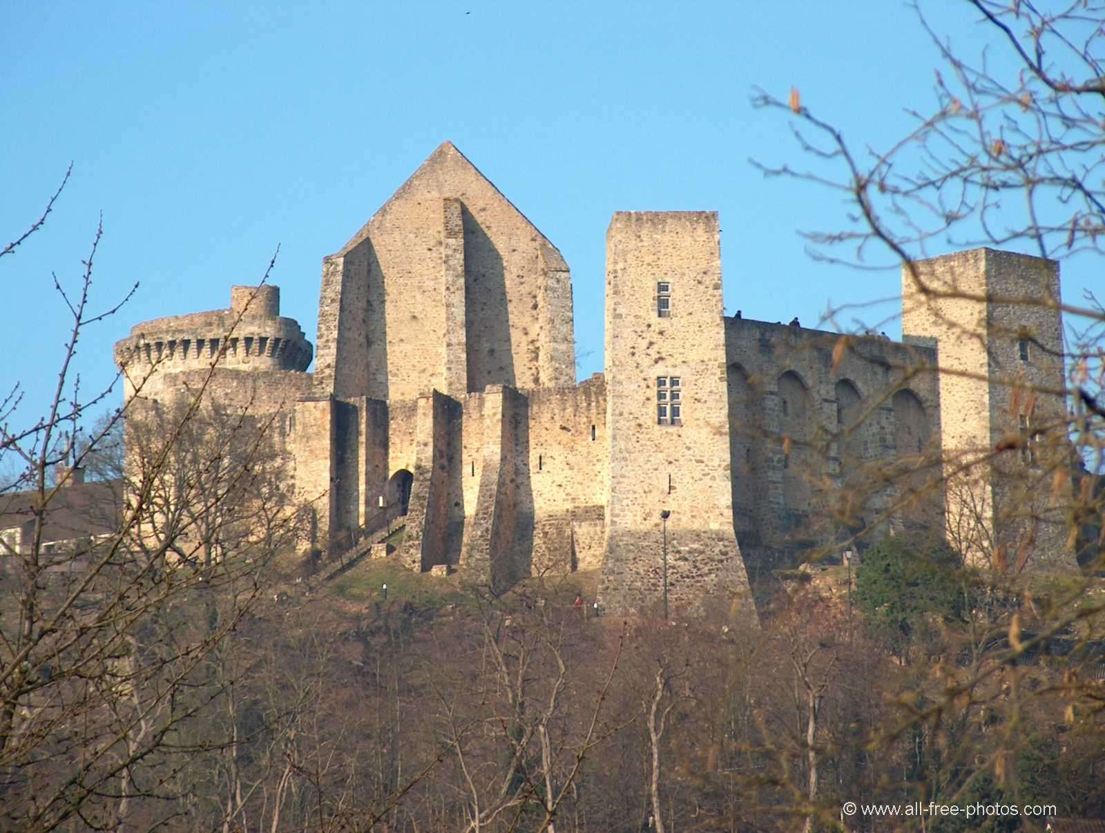 Photo: Castle of La Madeleine - Chevreuse - France