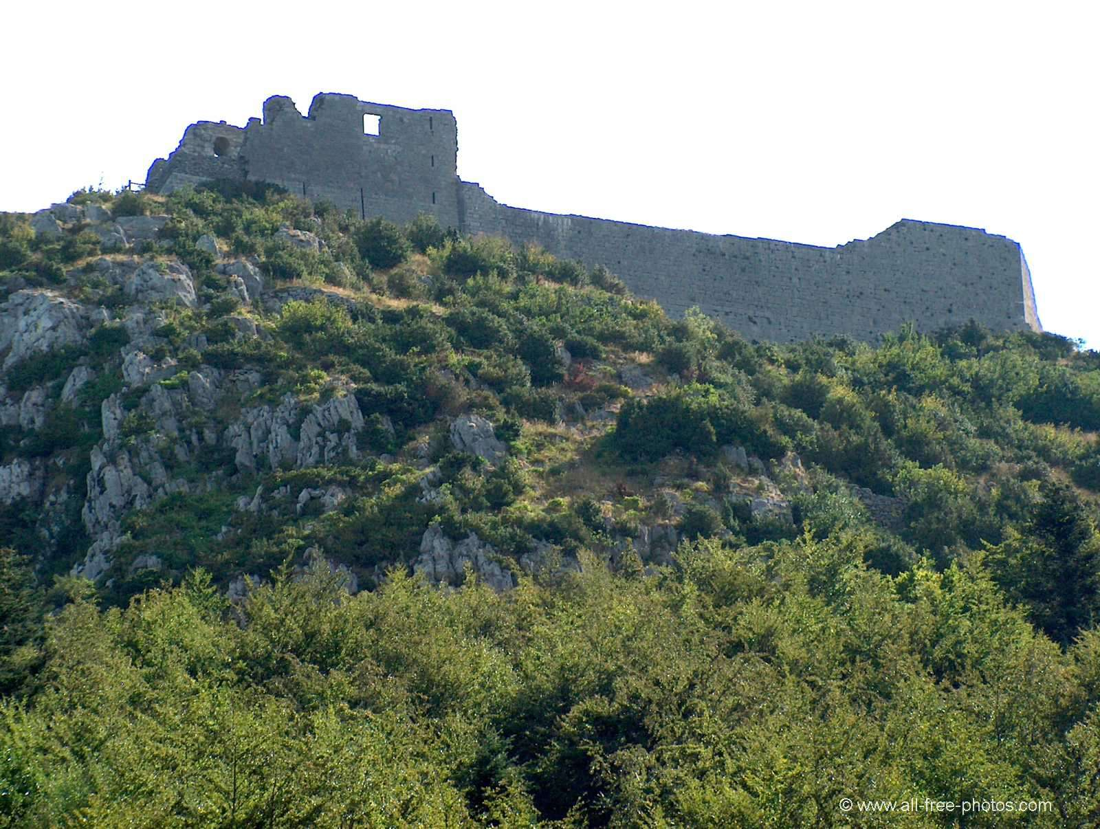 Home Galleries Castles and palaces Cathar castles Castle of Monts  gur