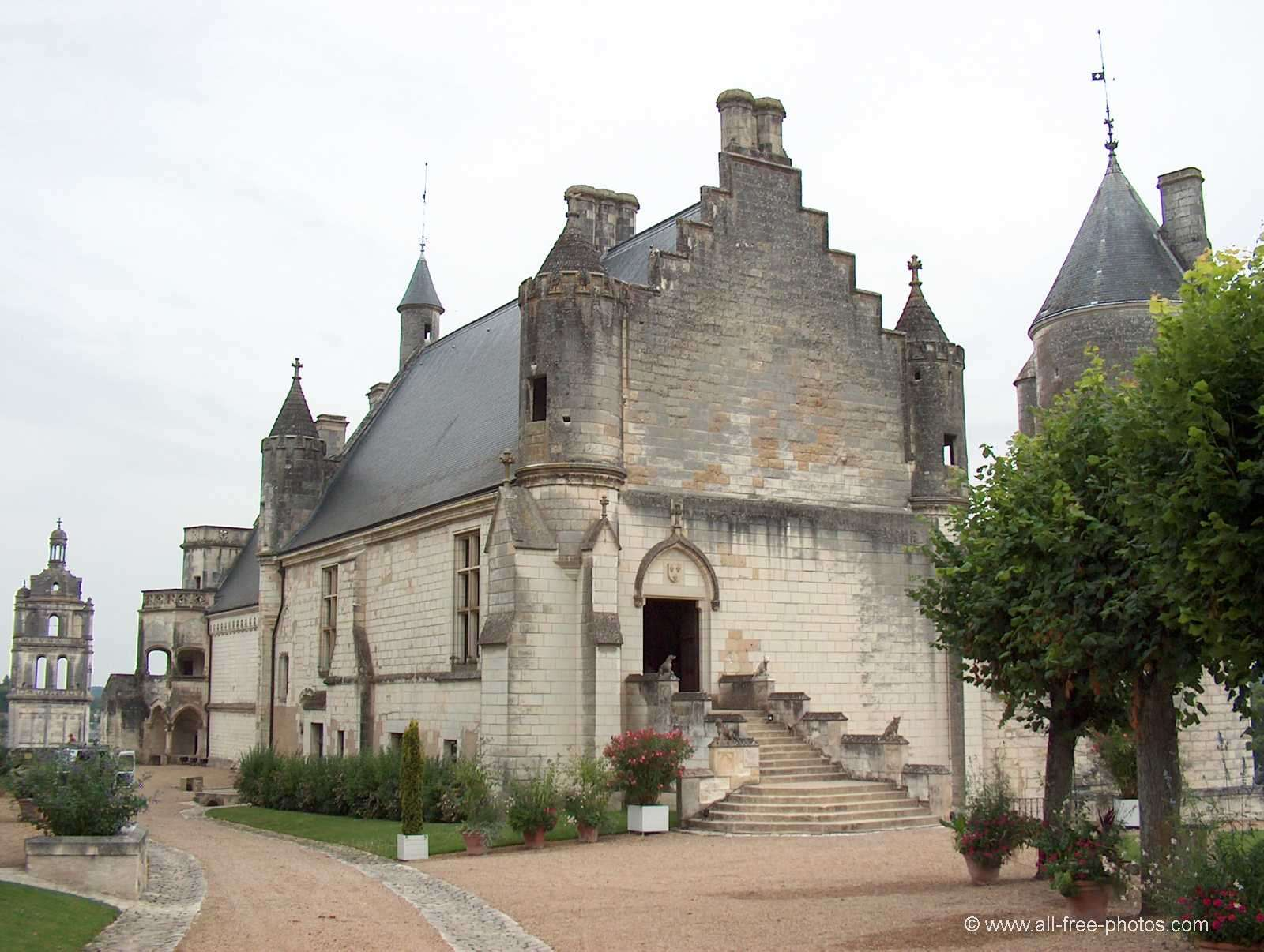 Royal residence - Loches - France