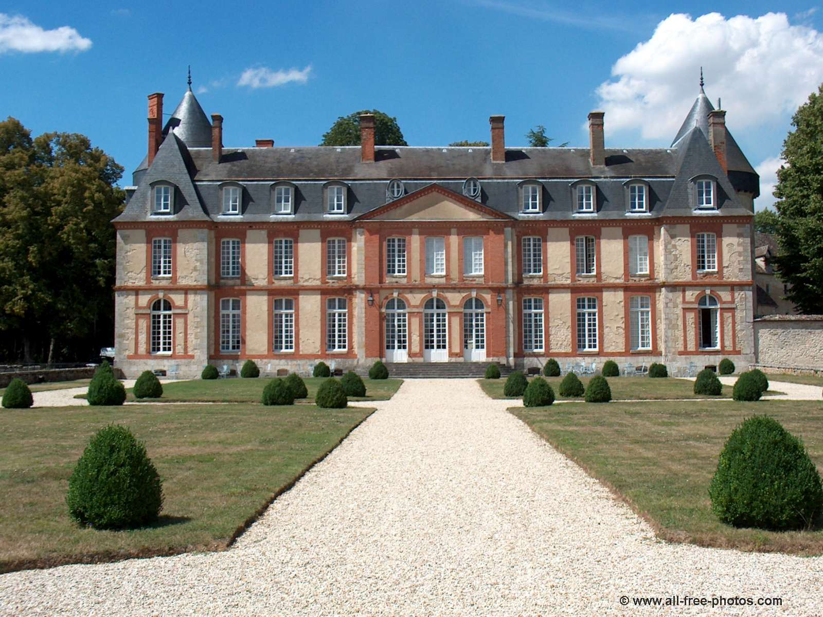 Castle of Malesherbes - France