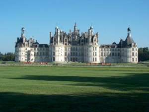 Castle of Chambord - France