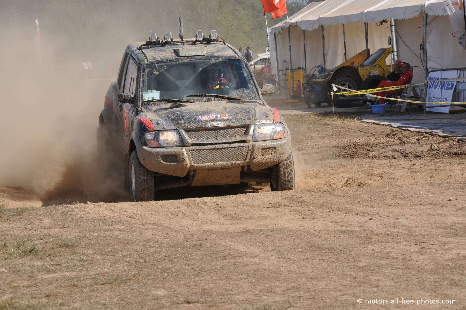 Mitsubishi - Team Riga Rally Raid 2