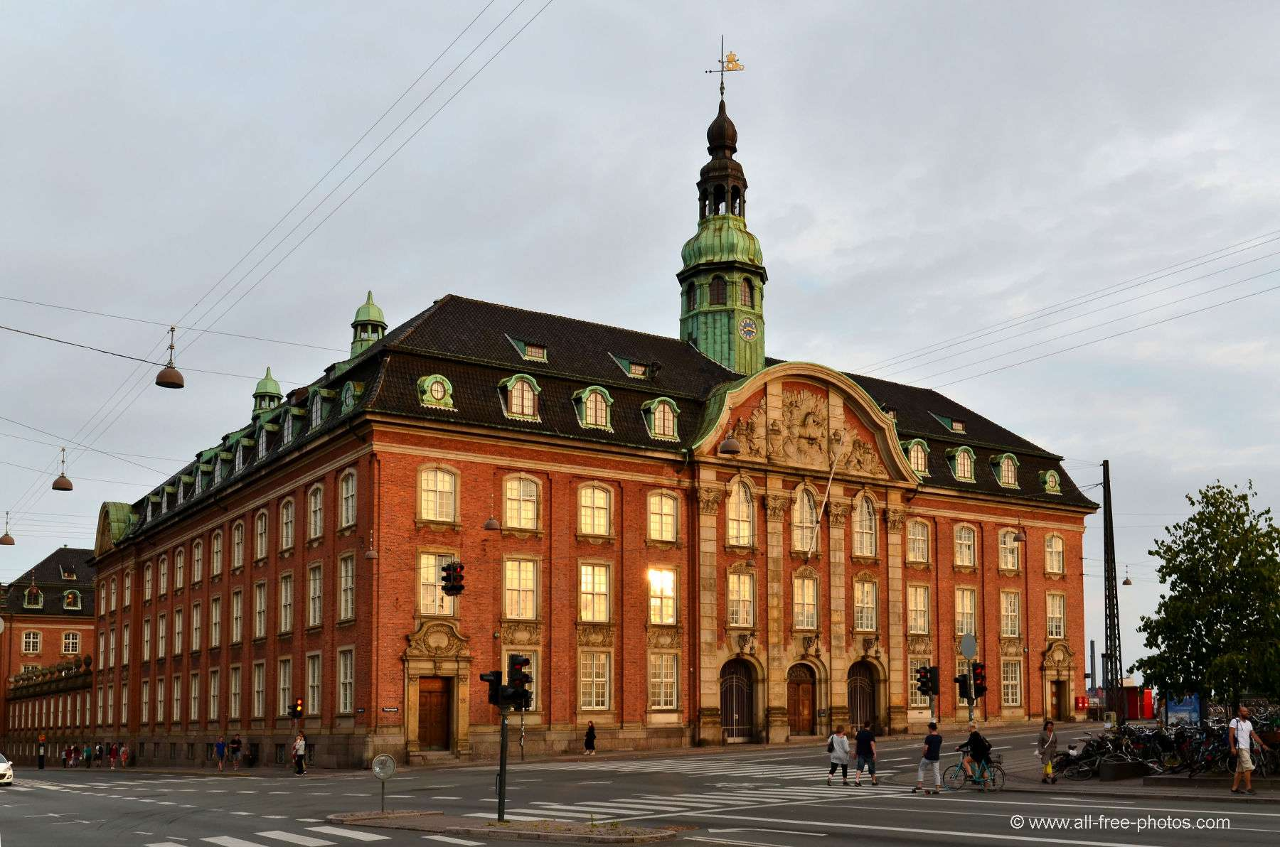 The main post office - Copenhagen - Denmark