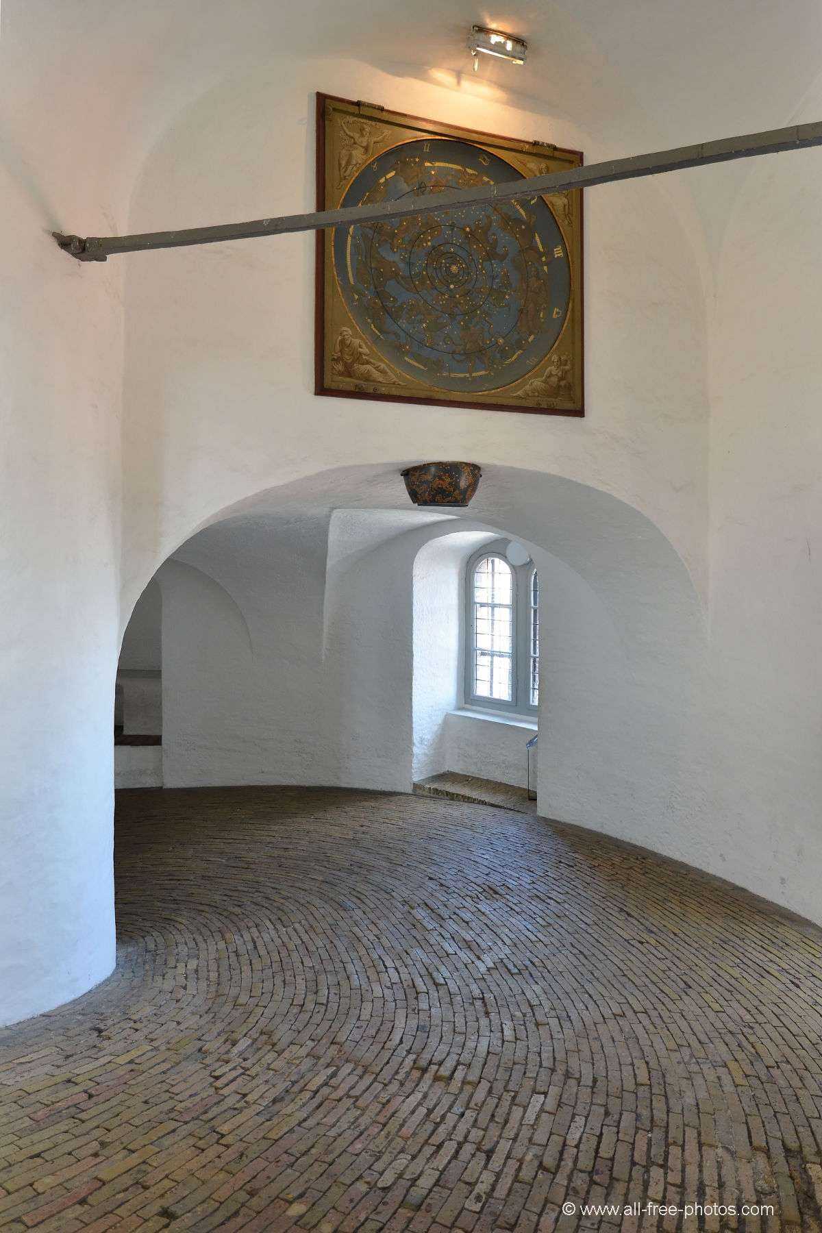 Spiral ramp of the Round Tower - Copenhagen - Denmark